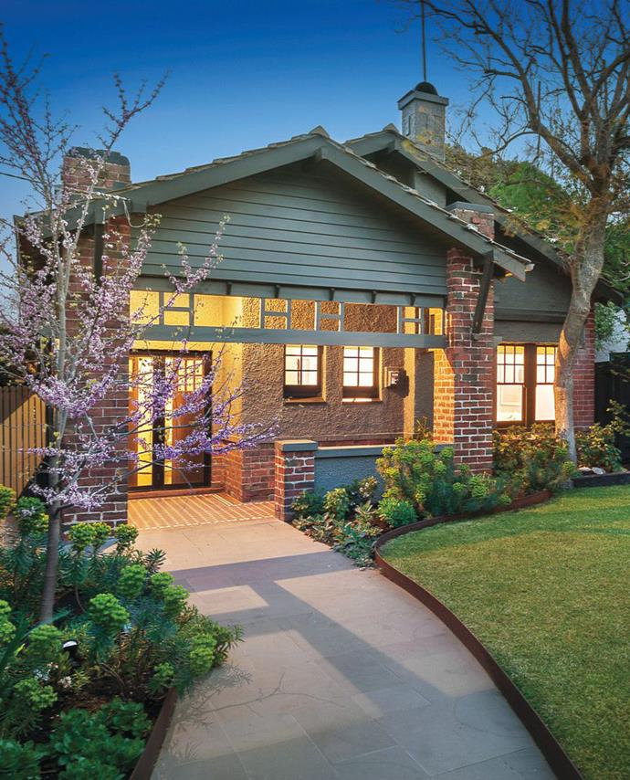 This quaint California Bungalow would make an ideal family home. *Photo courtesy of Domain.*