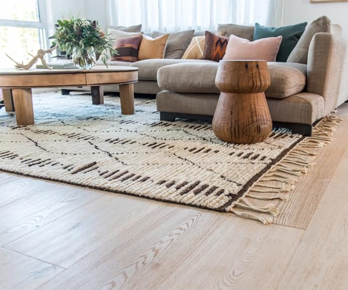 **Absolutely floored** Clearing the floor is one of the easiest ways to immediately declutter and remove dirt.