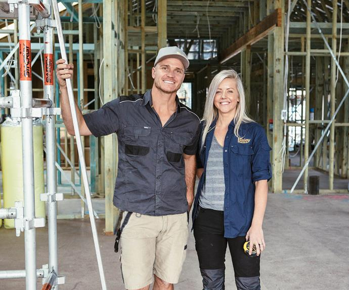 **Kyal and Kara** The Central Coast couple have over 28 renovation projects under the belt.