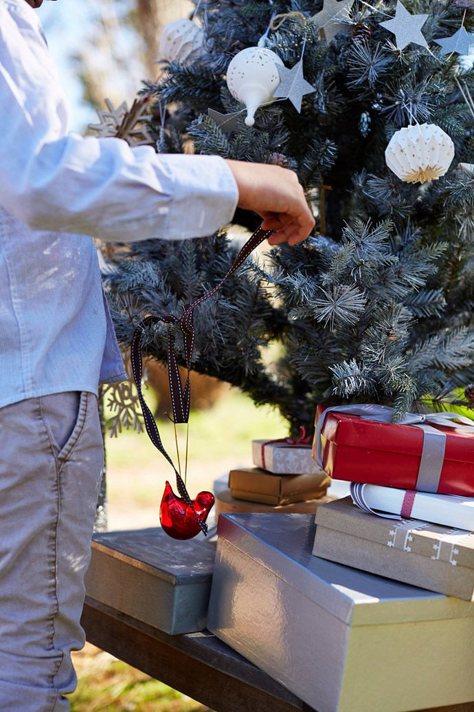 Sticking with your existing Christmas decorations, rather than buying everything new again, will save you a pretty penny over the Christmas season. *Photo: John Paul Urizar / bauersyndication.com.au*
