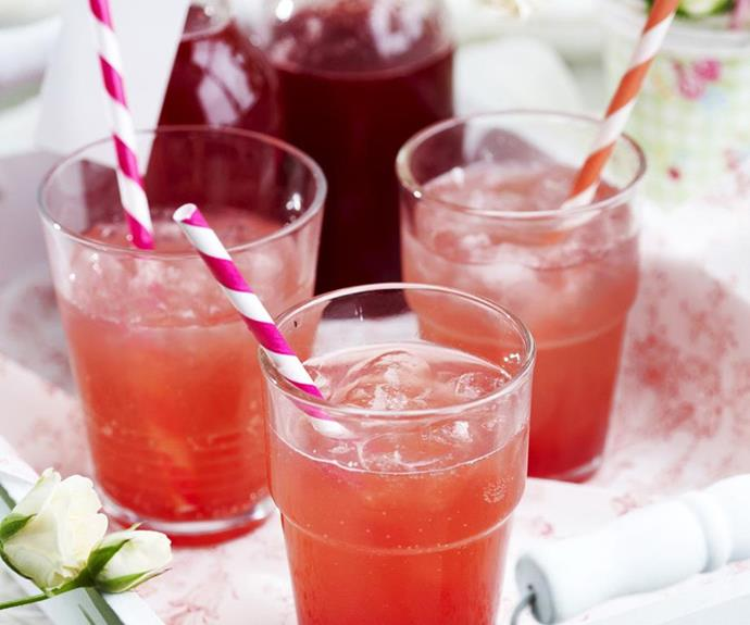 "[Peach and raspberry cordial](https://www.womensweeklyfood.com.au/recipes/peach-and-raspberry-cordial-3147|target=""_blank""): Kids and designated drivers will love this fruity (non-alcoholic) mix."