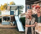 Kyal & Kara create the ultimate cubby house