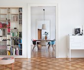 A heritage apartment with a decidedly feminine interior