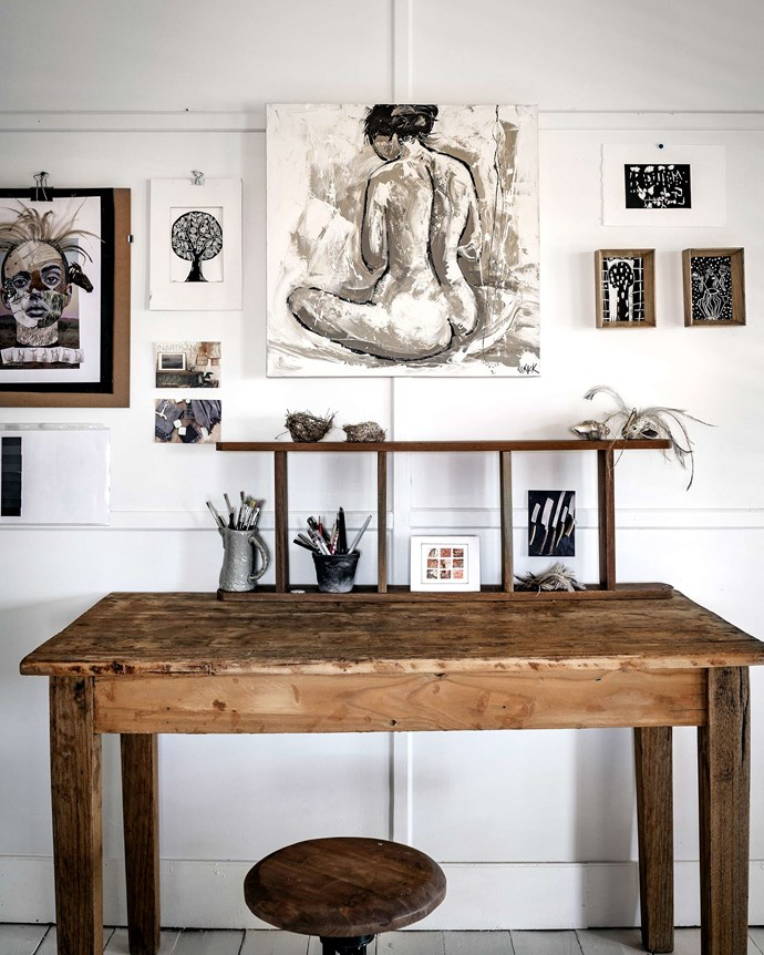 Zanna's studio is a trove of collected wares and art. | *Photography: Michael Wee*