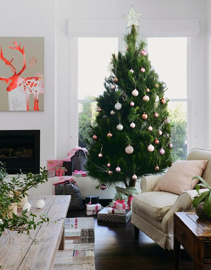 Nothing says Christmas like a real tree. *Photo:* Lauren Bamford / *bauersyndication.com.au*