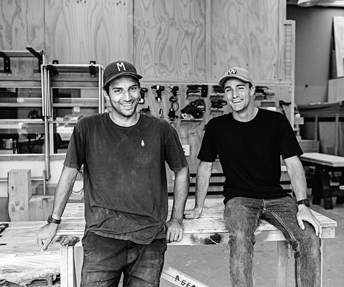 """**Profile** Designers George Wilkins and William McCallum from George & Willy. *Photography:*[Swift & Click](http://www.swiftandclick.com/ target=""""_blank"""" rel=""""nofollow"""")."""