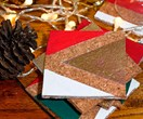 How to make DIY Christmas coasters