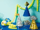 How to make Christmas party hats
