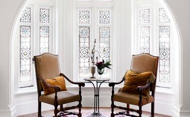 A grand Gothic revival home with Parisian inspired interiors
