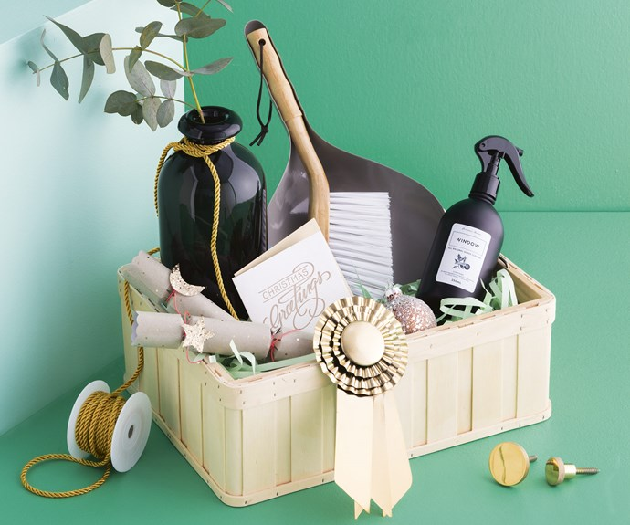 There's nothing quite as heartwarming as a gift that's perfectly tailored for its recipient. Ditch ready-made hampers and curate your own, with a few special touches, for the loved ones in your life. To give you some inspiration, here's four we whipped up for ourselves! <i>Styling by Vanessa Colyer Tay with assistance from Gemma Del Vecchio | Photography by Sam McAdam-Cooper</i>.