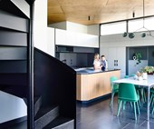 How a triangular block became a functional family home