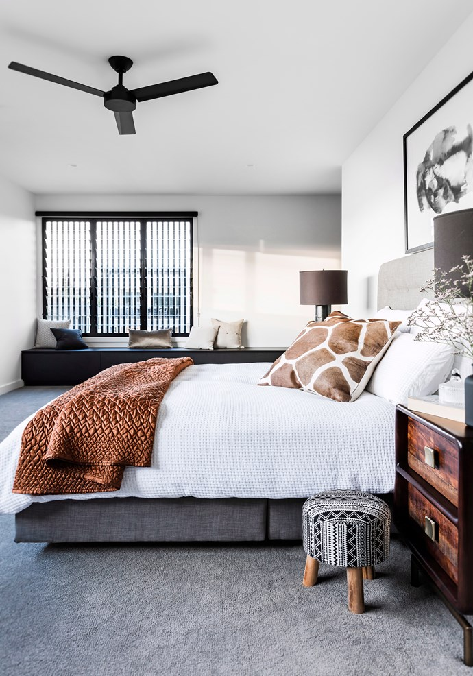 By all accounts, ceiling fans are worth investing in. Not only are they relatively affordable to run, they can also assist an air-conditioning unit making it run more efficiently. *Photo: Maree Homer / bauersyndication.com.au*