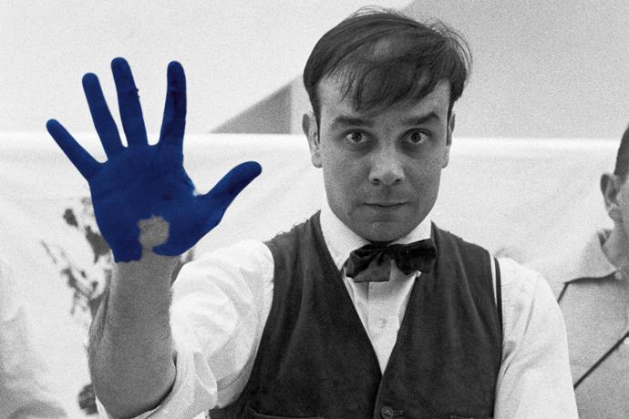 French artist Yves Klein created International Klein Blue.