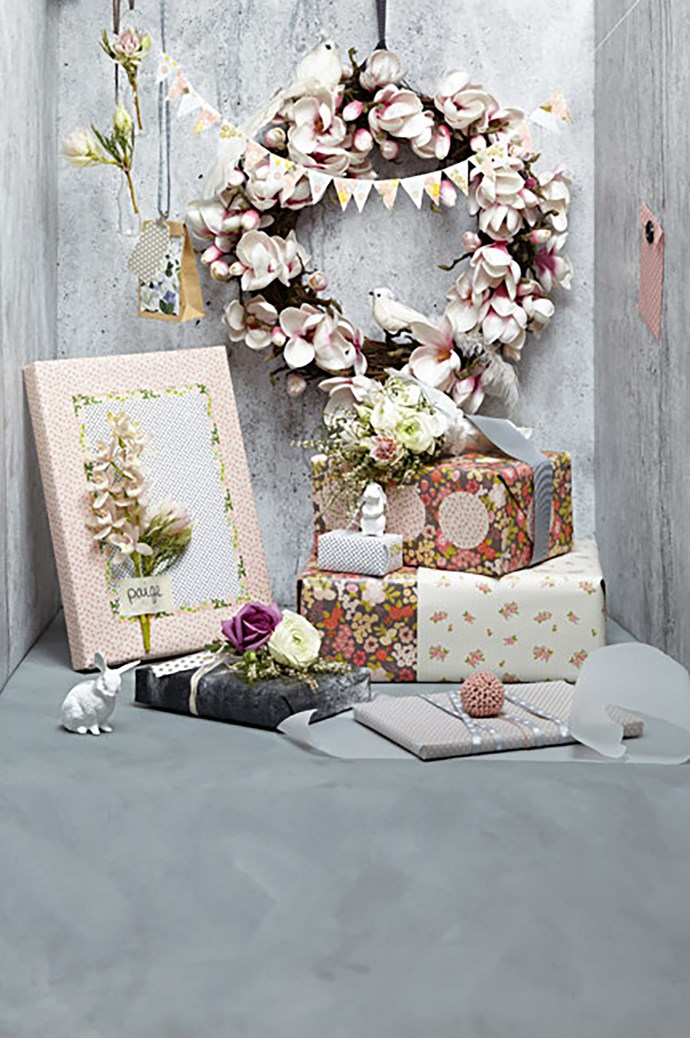 "**Floral** - Get your flower-power on with pretty petal wrapping paper. Look out for large floral prints with touches of [sage-green](https://www.homestolove.com.au/is-sage-green-the-new-millennial-pink-6786|target=""_blank"") for a sophisticated take on Christmas style."