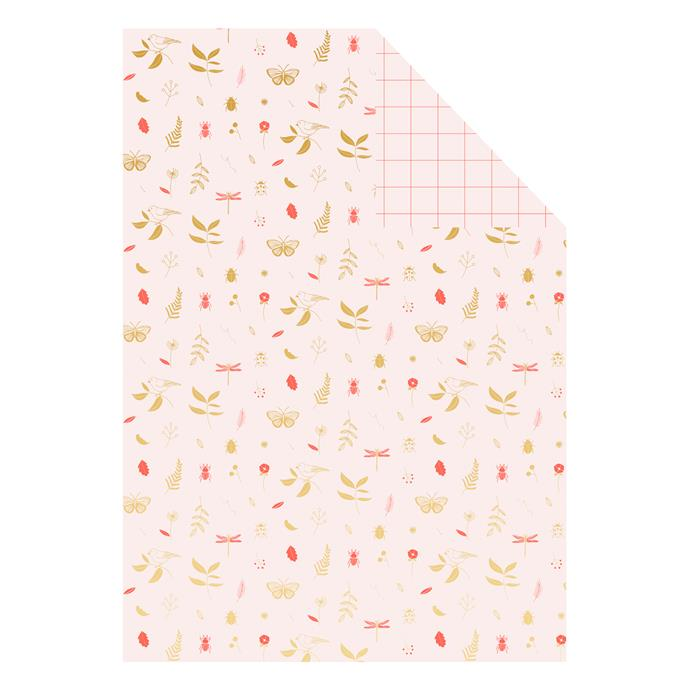"'Wonderful' reversible **wrapping sheet** in wonderful, $5.95 (for s single 710 x 490mm sheet), from [Kikki K](https://fave.co/2qGzRu3|target=""_blank""