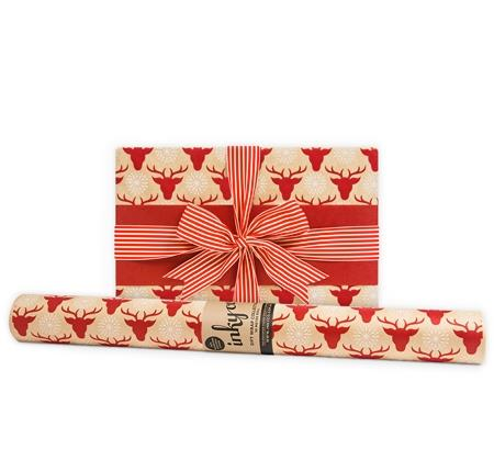"'Oh deer it's Christmas' **wrapping paper**, $16 (for 10m roll), from [InkyCo.](https://www.inkyco.com.au/oh-deer-it-s-christmas.html |target=""_blank""