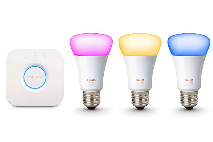 """**Smart bulb** The Phillip Hue Smart Bulb is one of the easiest additions to your smart home and are compatible with all smart speakers. You can find them on [Amazon Australia](https://www.amazon.com.au/