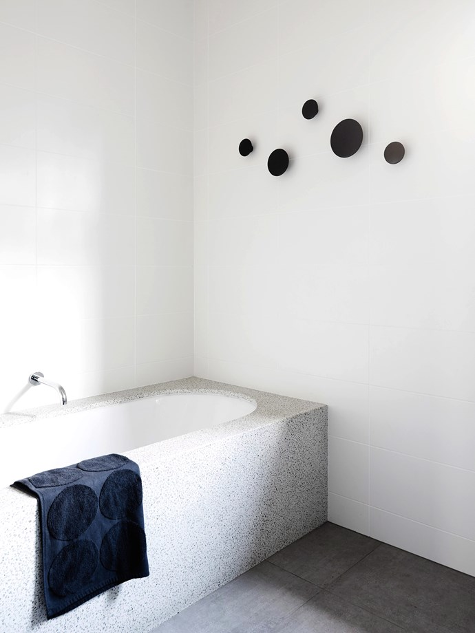 While freestanding bathtubs may be having a moment in the design spotlight, inset tubs have quietly become more stylish than ever before. *Photo: Brooke Holm / bauersyndication.com.au*