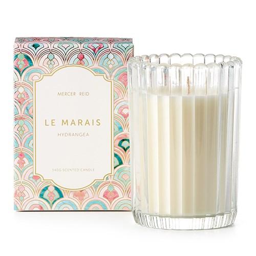 "Mercer + Reid Le Marais Hydrangea candle, $30 [Adairs](https://fave.co/2DgJEyq|target=""_blank""|rel=""nofollow"")."