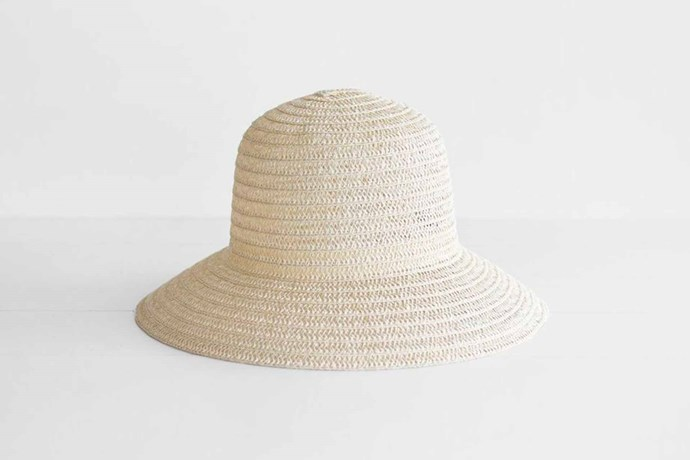 """Sophie 'So Shady' hat, $35, [Paper Plane](https://www.paperplanestore.com/
