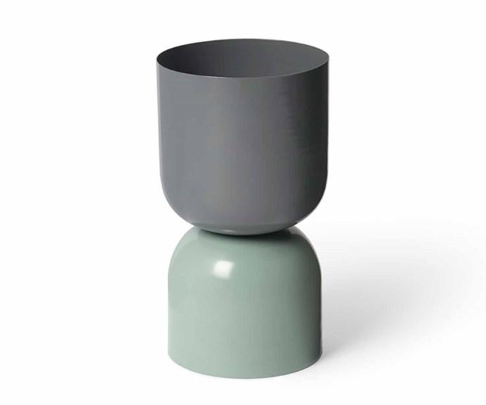 "'Tone' planter, $150, [Lightly](https://www.lightly.com.au/|target=""_blank""|rel=""nofollow"")."