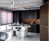 An edgy Sydney penthouse apartment by Amber Road