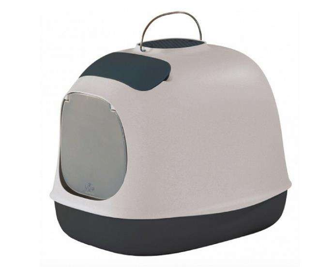"""'United Pets' Minu Cat Litter Box in Nougat, $99.99, [Peticular](https://www.peticular.com.au/collections/cat-litters/products/minu-litter-box-nougat