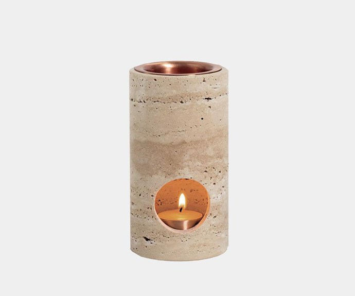 "Addition Studio 'Synergy' oil diffuser, $169.95, [In Bed](https://inbedstore.com/|target=""_blank""