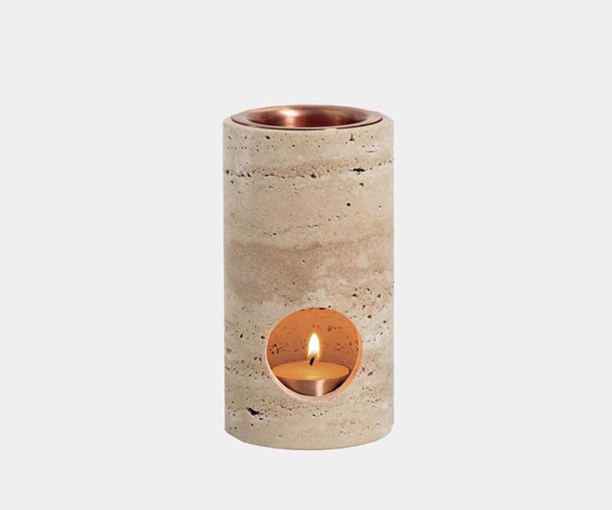 """Addition Studio 'Synergy' oil diffuser, $169.95, [In Bed](https://inbedstore.com/