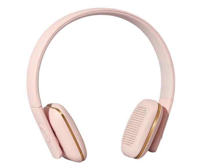 "Kreafunk 'Ahead' Bluetooth headphones, $175, [Until](http://www.until.com.au/|target=""_blank""|rel=""nofollow"")."