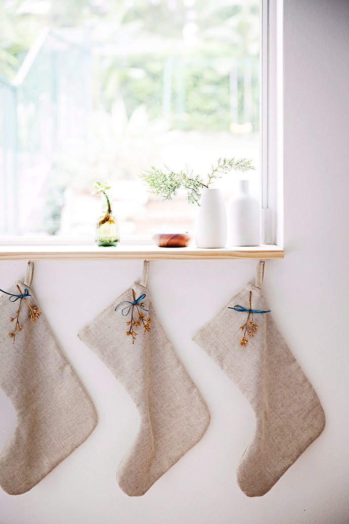 Window ledges, mantlepieces and even bulky mirrors or photo frames make great places to creatively display Christmas decorations. *Photo: James Henry / bauersyndication.com.au*
