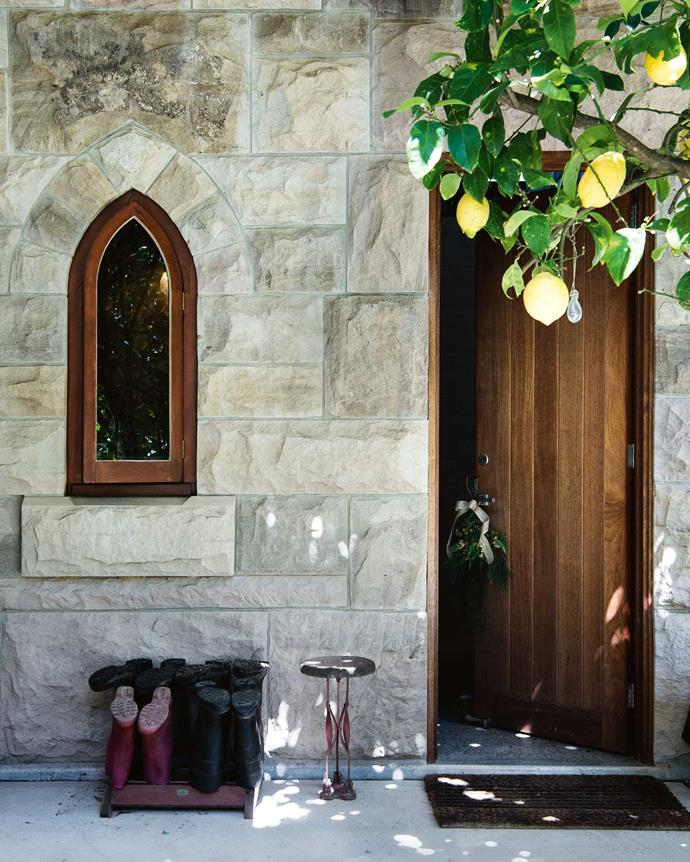 "Tarmaroo has been a ""labour of love,"" says Emma's father James, who was initially drawn to property because of its stone house. While renovating the house five years ago, the family employed the same stonemason who'd built the original fireplace, and quarried some of the new stone from the property itself.  