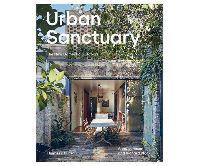 *Urban Sanctuary: The New Domestic Outdoors* showcases outstanding contemporary houses from Australia and New Zealand situated in urban contexts that explore and demonstrate new inventive ways of living with the outdoors.