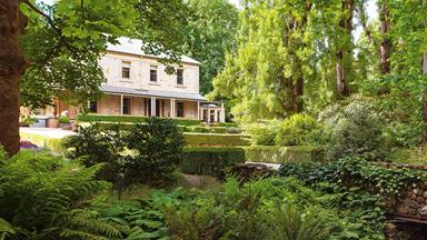 Historic garden on the edge of the Adelaide Hills