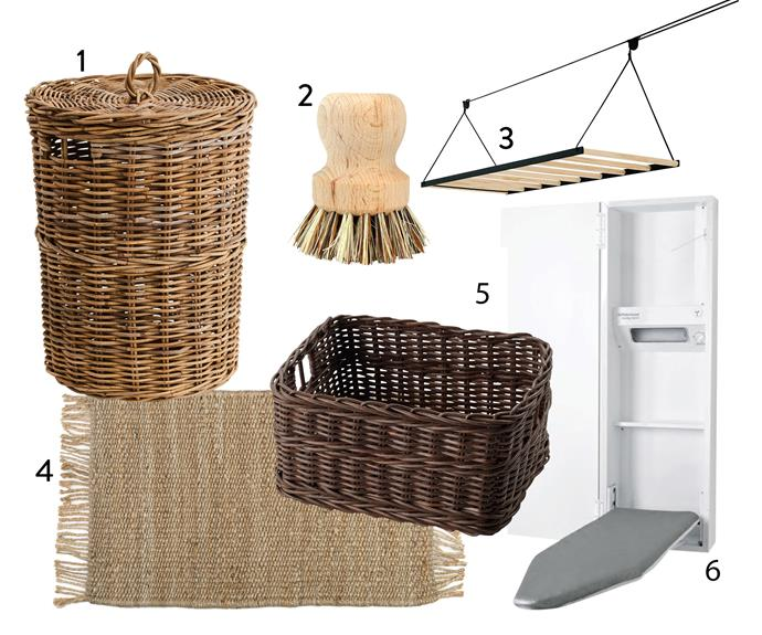 "1. 'Kubu' laundry **basket**, $129.95, from [Provincial Home Living](https://www.provincialhomeliving.com.au/kubu-laundry-basket|target=""_blank""