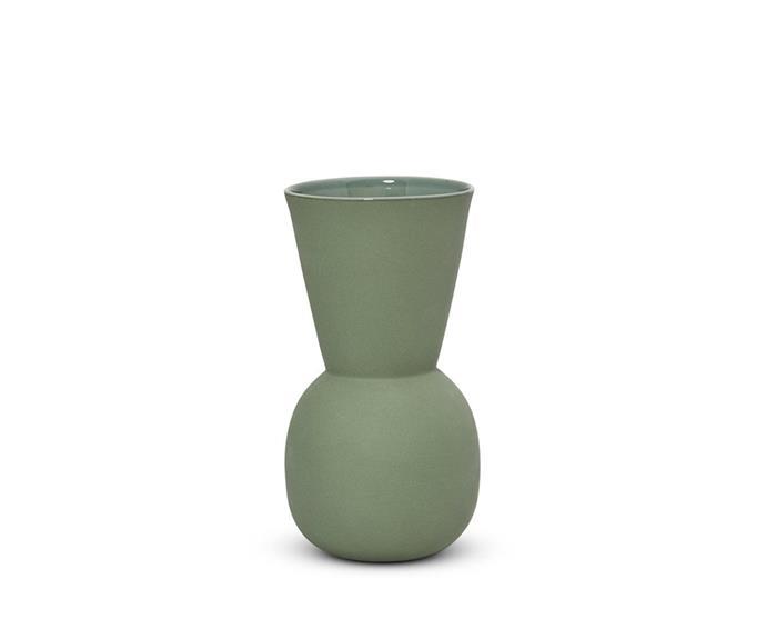 "'Cloud' bell vase, $49, [Marmoset Found](https://marmosetfound.com.au/ target=""_blank"" rel=""nofollow"")"