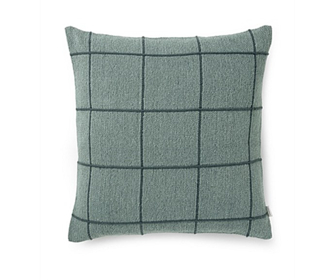 """'Vahl' cushion, $69.95, [Country Road](https://www.countryroad.com.au/