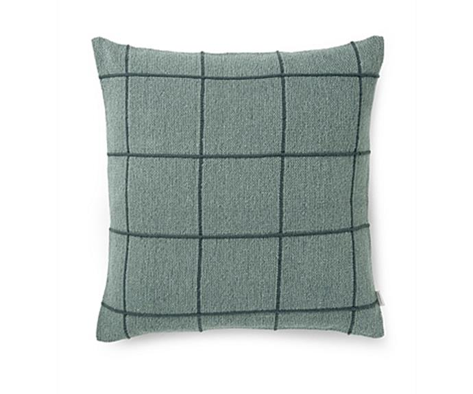 """'Vahl' cushion, $69.95, [Country Road](https://www.countryroad.com.au/ target=""""_blank"""" rel=""""nofollow"""")"""