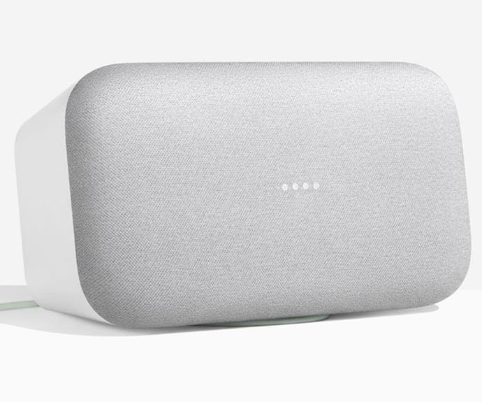 """Google Home Max smart speaker and home assistant, $549, [Google Store](https://store.google.com/ target=""""_blank"""" rel=""""nofollow"""")."""