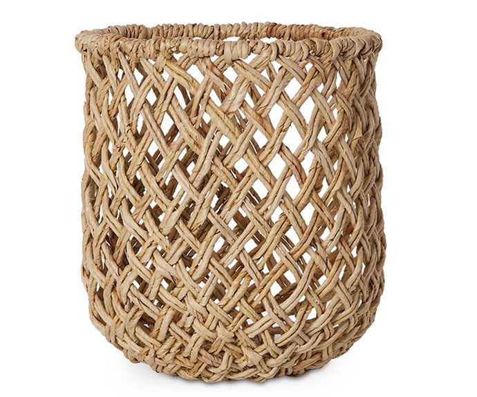 "Home Republic 'Jojo' basket, $41.99, [Adairs](https://www.adairs.com.au/|target=""_blank""|rel=""nofollow"")"