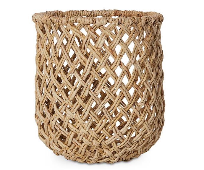 "Home Republic 'Jojo' basket, $41.99, [Adairs](https://www.adairs.com.au/ target=""_blank"" rel=""nofollow"")"
