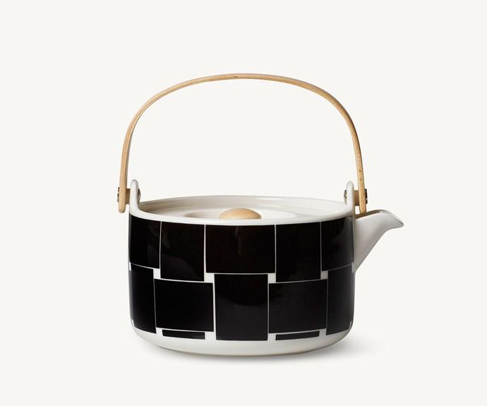 "'Oiva/Basket' teapot, $125, [Marimekko](https://www.marimekko.com/au_en/|target=""_blank"")."