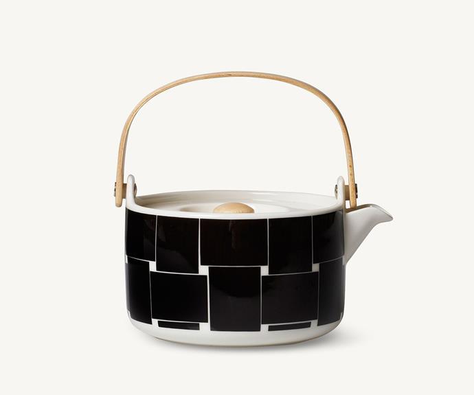"'Oiva/Basket' teapot, $125, [Marimekko](https://www.marimekko.com/au_en/ target=""_blank"")."