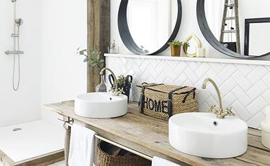 17 country bathrooms with a rustic edge