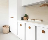 These 4 laundry spaces are filled with clever ideas