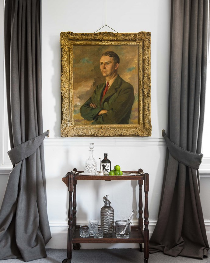 This portrait is of Henry's grandfather, Henry Edward Bowden Gundry, who married Rosemary Osborne.| *Photography: Brigid Arnott | Styling: Kristen Wilson*