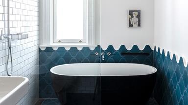Making waves in a coastal inspired bathroom