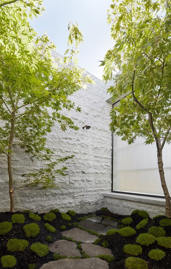 For designers Broderick Ely, Andrew Piva and Jonathon Boucher, the outdoor shower is a standout feature.