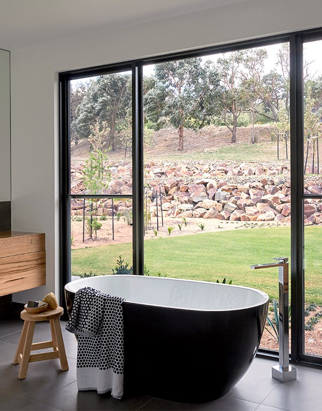 "Floor-to-ceiling 'Alumiere' windows from [Stegbar](https://www.stegbar.com.au/alumiere|target=""_blank""