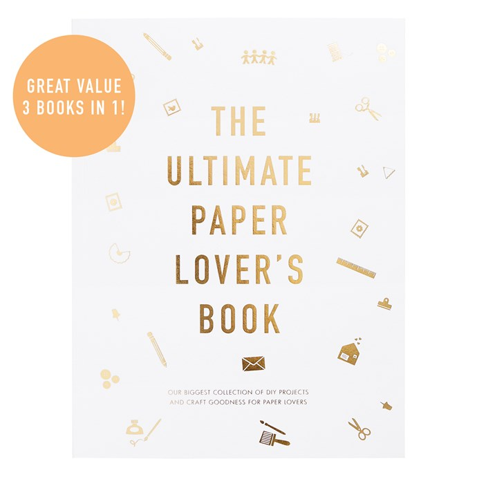 """The Ultimate Paper Lover's **Book**, $79.95, from [Kikki K](https://fave.co/2PE2c30